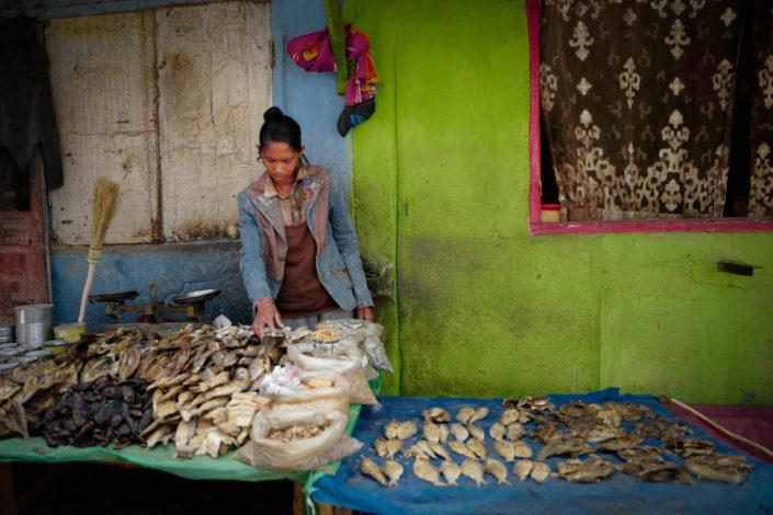 Antananarivo street market