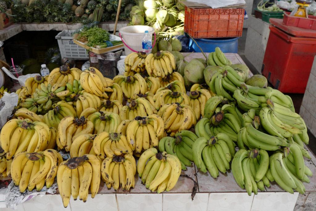 Bananes LeicaQ Leica116 marché thailande