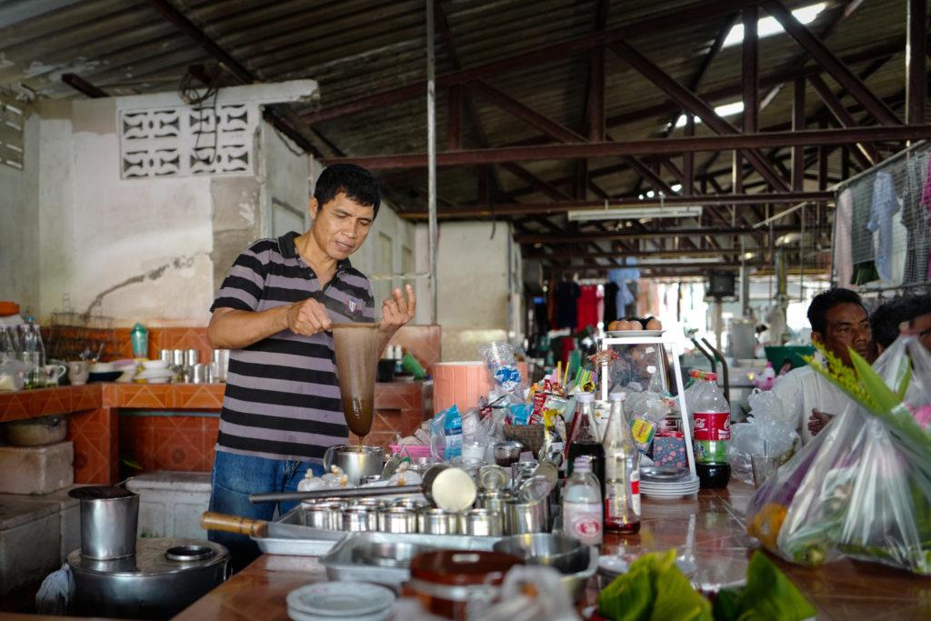 Thai barista local market Samui leicaQ leica116