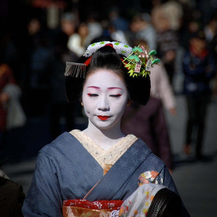 Geisha in Kyoto Gion japantradition