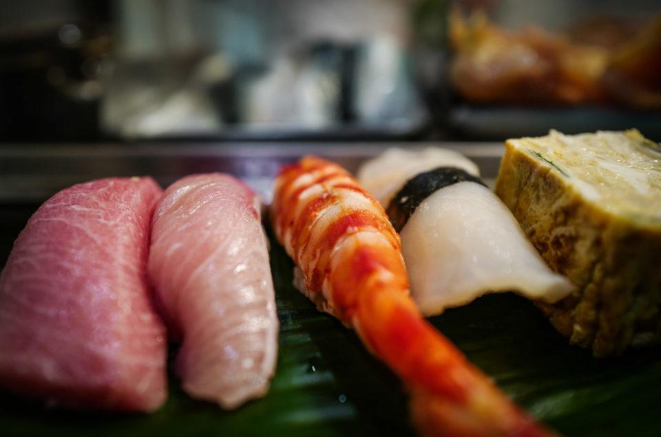 My favorite sushi restaurant in Tokyo Sushi Bun