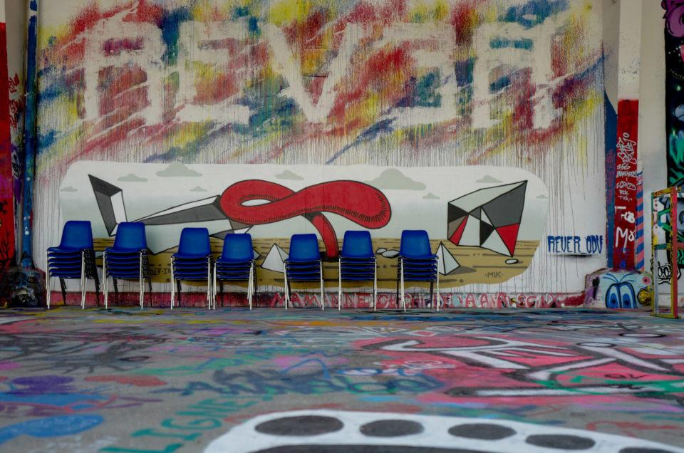 L'aérosol street art Paris