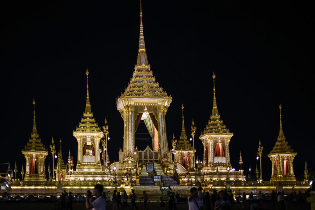 king Rama 9, royal crematorium, Bangkok