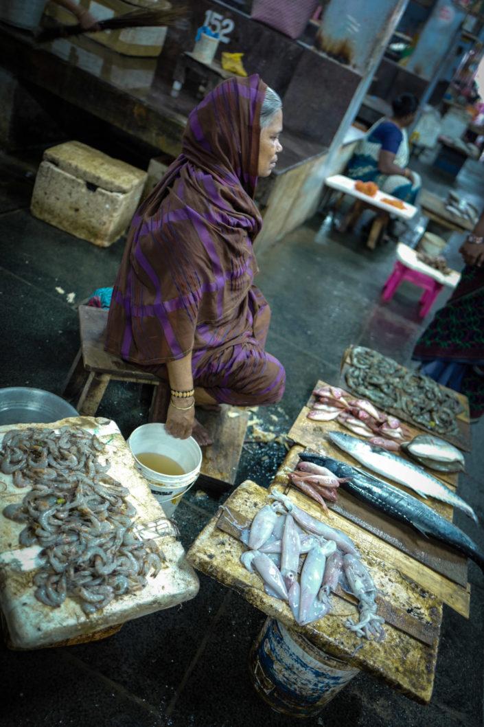 pondichery fish market