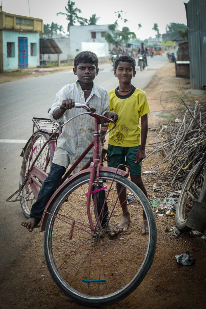 Indian cycling Childs